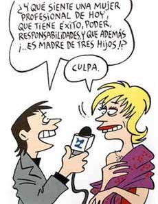 Maitena, la genial historietista e ilustradora argentina, ha ahondado con humor y emoción en estos sentimientos de las mamás trabajadoras que generan normalmente tremendas contradicciones, muy recomendable