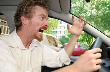la agresividad al volante está latente antse de coger el coche